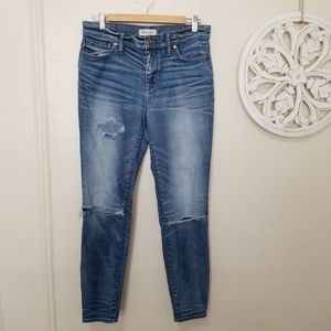 Madewell size 30 high riser skinny jeans
